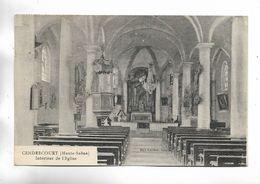70 - CENDRECOURT ( Haute-Saône ) - Intérieur De L' église - Frankreich