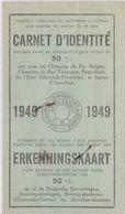 Belgique, Carte D'Identité 1949. - Historische Dokumente