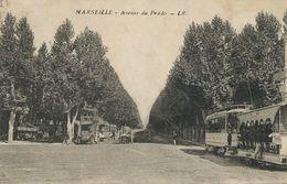 Tram à Marseille Tramway. Ouvert Et Autobus à Imperiale - Tranvía