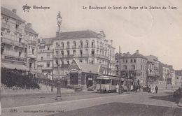 690 Wenduyne Tramways Le Boulevard De Smet De Nayer Et La Station De Tram - Tramways