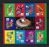FRANCE  Blocs&Feuillets : Paire CDF ''Coupe Du Monde De Football FRANCE 1998'' Neuf**  TTB - 1998 – France