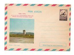 Enveloppe Prin Avion 1926-1976 Posta Romana 50 De Ani De La Inaugurarea Primei Linii Aeroportul Baia Mare - Andere Verzamelingen