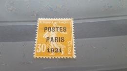 LOT507380 TIMBRE DE FRANCE OBLITERE N°20 PREO SIGNE CALVES - Precancels