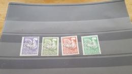 LOT507382 TIMBRE DE FRANCE NEUF** LUXE N°119 A 122 PREO - 1953-1960