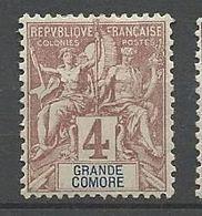 GRANDE COMORE N° 3 NEUF*  CHARNIERE / MH - Nuovi