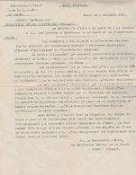 Lettre Cachet VABRE Tarn 5/7/1945 Avec Dossier Salaire INSUFFISANT Directrices Ecoles Infirmières Voir Description - Marcophilie (Lettres)