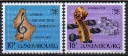 Luxembourg - 1985 - Yvert N° 1075 & 1076 **  - Europa - Luxembourg