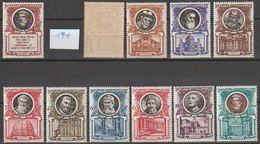 Vatikan 1953  Mi-Nr.192,194 - 203 ** Postfr. Päpste Und Baugeschichte Von St. Peter ( A3064 )günstige Versandkosten - Vatican