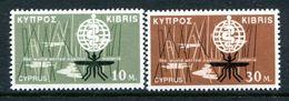 Cyprus 1962 Malaria Eradication Set MNH (SG 209-210) - Cyprus (Republic)