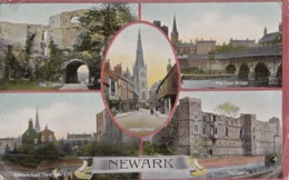 AM17 Newark Multiview, C1907 Postcard - Angleterre