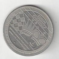 Chess, Netherlands Hengelo, Medallion 2.9cm Approx Diameter, Youth Tournament - Paesi Bassi