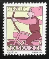 Polska - Poland - Polen - P1/6 - (°)used - Symbolen Van De Dierenriem - Michel Nr. 3603x - Boogschutter - Astrologie
