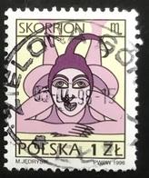 Polska - Poland - Polen - P1/6 - (°)used - Symbolen Van De Dierenriem - Michel Nr. 3598x - Schorpioen - Astrologie