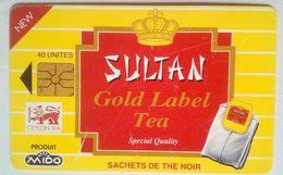 40 Units Sultan Gold Label Tea - Maroc