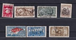 USSR 1927 Michel 328-334 10th Anniversary Of Great October Revolution Used - 1923-1991 USSR