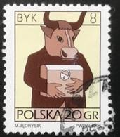 Polska - Poland - Polen - P1/6 - (°)used - Symbolen Van De Dierenriem - Michel Nr. 3583x - Stier - Astrologie