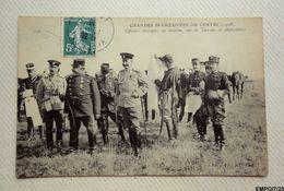 Grandes Manœuvres Du Centre - Officiers étrangers En Mission Sur Le Terrain - Maniobras
