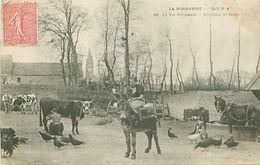 """NORMANDIE (76) - """"LA C.P.A"""" - LA VIE NORMANDE - UNE COUR DE FERME - Basse-Normandie"""