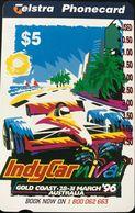 AUTRALIE  -  Telstra  -  IndyCar - Nival  -  '96  -   $ 5 - Australia