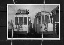 PHOTO TRAM D  LEUVEN DIEST T LEUVEN TIELT REPRO - Tranvía