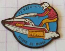 Pin's - DEFI BATTESTI - AVOMARK - Record Du Monde ( Jet Ski ) - Sci Nautico