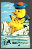 Floc Navigateur Illustation De Lagarde / Livre Illustré Pour Enfants Canard Humanisé / 1969 / Bien Lire Descriptif - Bücher, Zeitschriften, Comics
