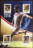 Niger 2016 Euro Football Sheetlet MNH - Niger (1960-...)