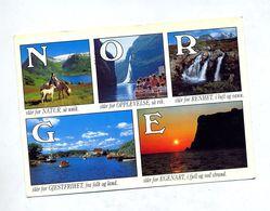 Carte Vue Flamme Geipanger Sur Ecureuil Cor - Norwegen