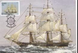 AT14 Ciskei Maximum Card - Troop Ship Hamburg - Ciskei