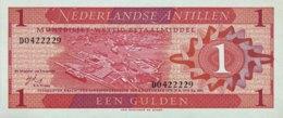 Netherland Antilles 1 Gulden, P-20 (8.9.1970) - UNC - Antilles Néerlandaises (...-1986)