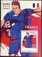 Niger 2016 Euro Football France Minisheet MNH - Niger (1960-...)