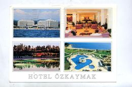 Carte Hotel Ozkaymak Flamme Muette Sur Satellite Fleur - Turchia