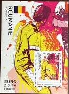 Niger 2016 Euro Football Romania Minisheet MNH - Niger (1960-...)