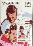 Niger 2016 Euro Football England Minisheet MNH - Niger (1960-...)