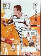 Niger 2016 Euro Football Germany Minisheet MNH - Niger (1960-...)