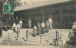 Exposition Coloniale 1907 Nogent Sur Marne  Laotiennes . Maison Du Notable - Laos