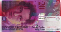 Suisse 20 Francs (P69e) 2008 -UNC- - Svizzera