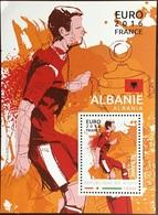 Niger 2016 Euro Football Albania Minisheet MNH - Niger (1960-...)