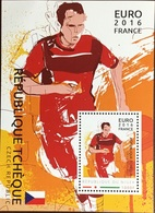 Niger 2016 Euro Football Czech Republic Minisheet MNH - Niger (1960-...)