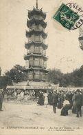 Exposition Coloniale 1907 Nogent Sur Marne  La Tour De L' Annam . Pub Bière Des Moulineaux - Vietnam