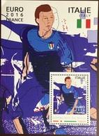 Niger 2016 Euro Football Italy Minisheet MNH - Niger (1960-...)