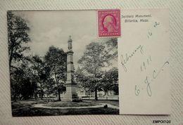 USA Massachusetts - BILLERICA  SOLDIERS MONUMENT - Autres