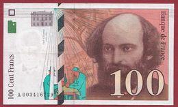 "100 Francs ""Cézanne"" 1997---SUP+----ALPH.A ---Numéro.003416729 - 1992-2000 Ultima Gama"