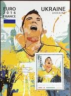 Niger 2016 Euro Football Ukraine Minisheet MNH - Niger (1960-...)