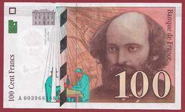 "100 Francs ""Cézanne"" 1997---SUP----ALPH.A ---Numéro.003968140 - 1992-2000 Ultima Gama"