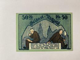 Allememagne Notgeld Schmolln 50 Pfennig - Collections