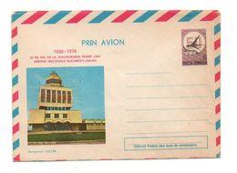 Enveloppe Prin Avion 1926-1976 Posta Romana 50 De Ani De La Inaugurarea Primei Linii Aeroportul Tulcea - Andere Verzamelingen