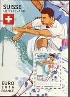 Niger 2016 Euro Football Switzerland Minisheet MNH - Niger (1960-...)