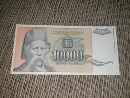 NO SERIAL NUMBER - Yugoslavia 10 000 Dinara 1993. AUNC - Yougoslavie