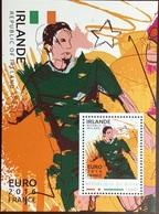 Niger 2016 Euro Football Ireland Minisheet MNH - Niger (1960-...)